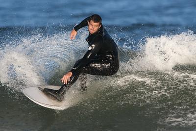 Surfer Dude at Nags Head Pier