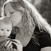 aiden-mom-kiss-2-bw