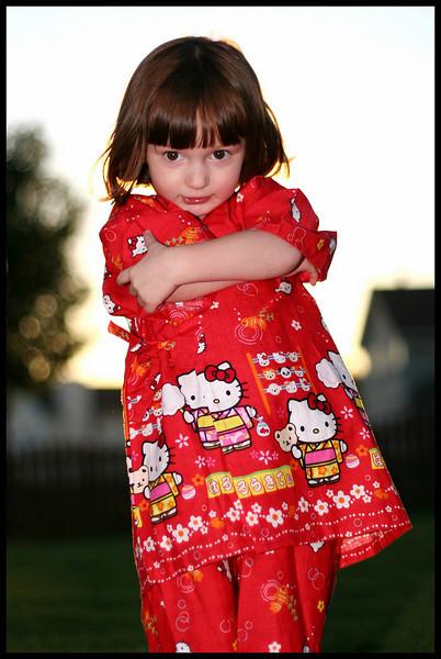 <center>Megan's Kimono