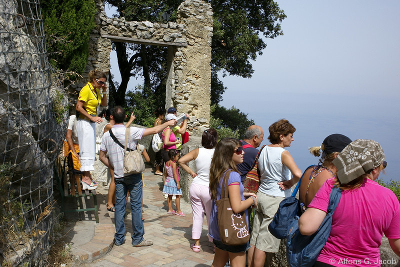 People on various occasions, Capri, Italy