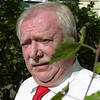 Dr. M. Häupl, Lord Mayor, Smallest Vineyard, Vienna, Austria