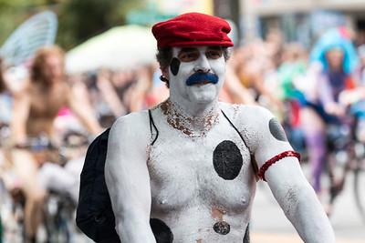 Mario's Patriotic Mustache