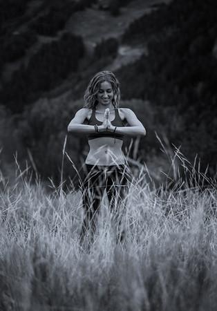 Natalie Kay Yoga Pose