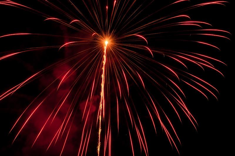 Carefree Holiday Light Parade Fireworks 6