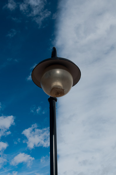 this light post could affect weather...