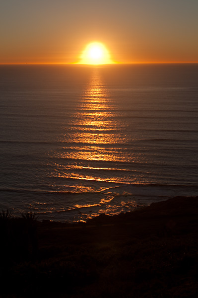 Sun Melts Into Pacific