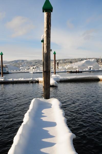 Dock Of Snow