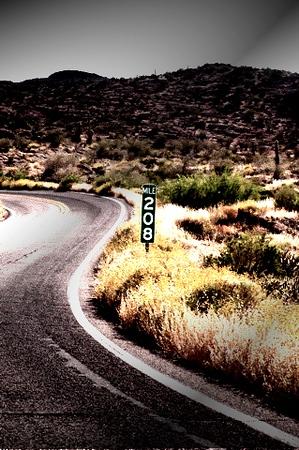 Mile marker 208-Apache Trail