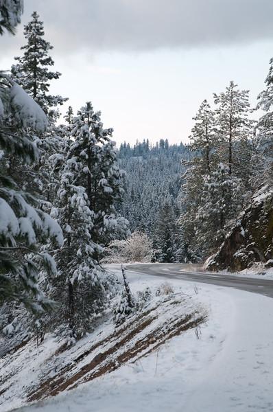 Fernan Loop Snow