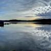 Coeur d'Alene Lake Sunset fusion image