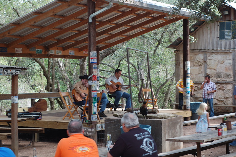 Sunday at the Luckenbach Post Office