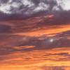 Red Orange Arizona Skies