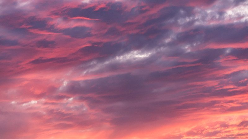 Pinky Red Clouds