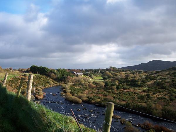 Somewhere in Ireland.