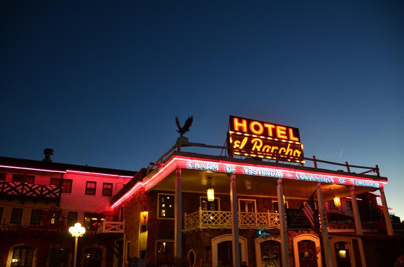 El Rancho Hotel, Gallup, New Mexico