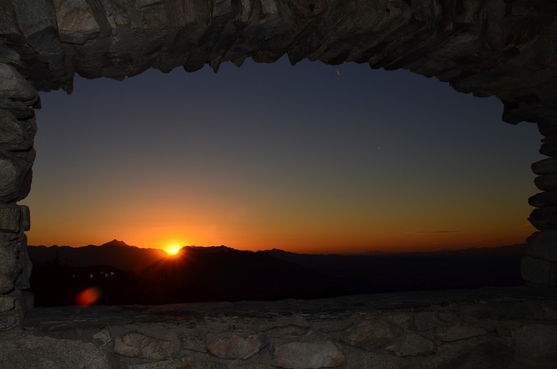 Dobbins Lookout, overlooking Phoenix, Arizona.