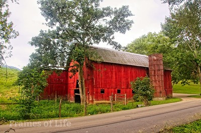 Red Barn in Bristol TN