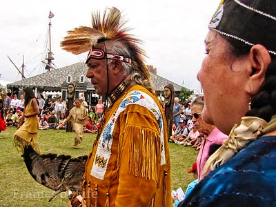 Native Americans at Town Park