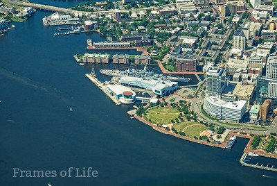 Nauticus and Downtown Norfolk