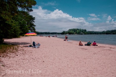 Beach on The Lynnhaven River