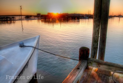 Sunrise on Tangier Island