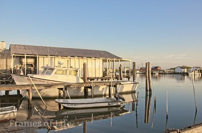 Crab Boat Docked on Tangier Island