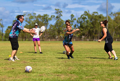 One of the pillars of the Gove region is Sean Oconnor who, through a love of rugby, has nurtured and developed a multicultural women's rugby team to compete in the 2013 Hotter 7's international rugby tournament. This will be the first ever womens rugby team from Arnhem land to compete in an international tournament.