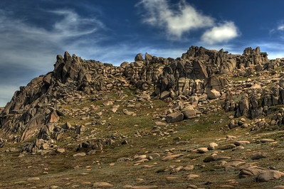 Mount Kosciuszko is a mountain located in the Snowy Mountains in Kosciuszko National Park. Shot in Summer