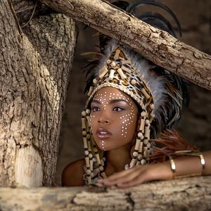 Headdress magic...