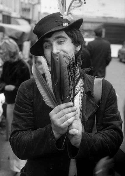 Portobello, England: Feather Merchant.