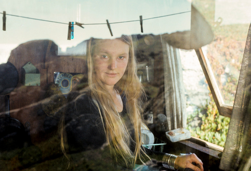 Steep Ravine, Calif:  Windows of the Past.