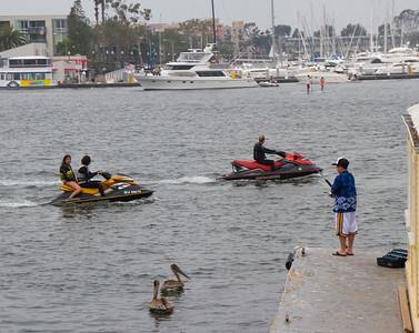 Fishermans Wharf, Marina del Rey, CA