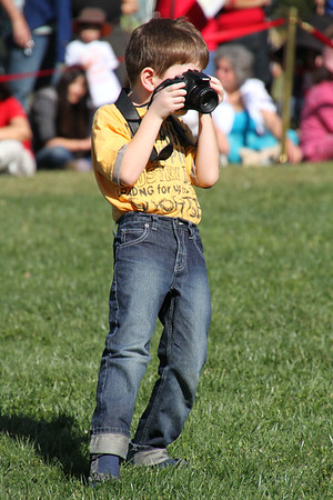 Mini photographer at Chinese New Year Festival