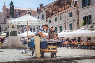 Happy Buyer Happy Seller. Dubrovnik, Croatia