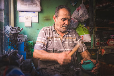 The Turkish Cobbler. Istanbul, Turkey