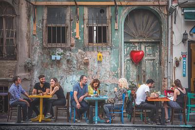 Balat Cafe. Istanbul, Turkey