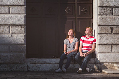 Gingernaps. Venice, Italy.