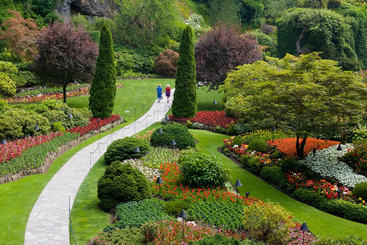 Butchers Gardens,  Victoria, Canada