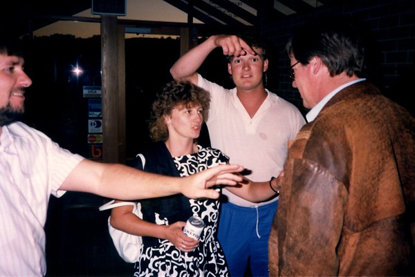 NAB Canberra Office Xmas Party 12 Dec 1987