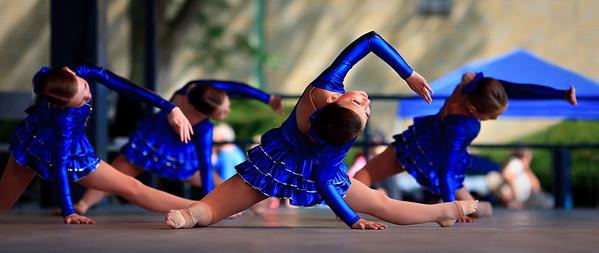Blue Dress Routine