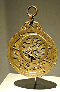 Brass Planispheric Astrolabe