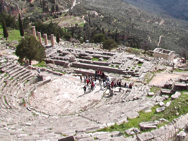 The theatre of Delphi