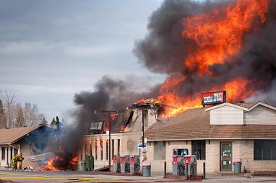 Fire Dorion Inn 2009