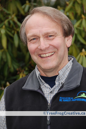 Brian Robinson - corporate photo. Client: Association of BC Forest Professionals.