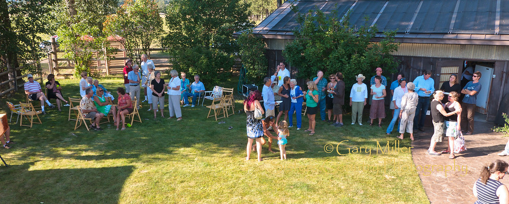 Dorro Sokol's Birthday Celebration 2011 - Photo by Gary N. Miller - Sisters Country Photography