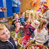 DSC_8101565  Caversham peripatus (Peripatoides 'Dunedin') Dunedin art teacher Kerry Mackay encourages children at Macandrew Bay School to think creatively, when making their own colourful 'peripatus' out of wool. Otago Peninsula *
