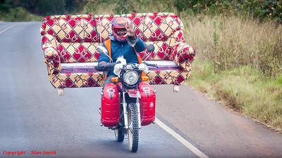 Comfortable Touring Motorbike