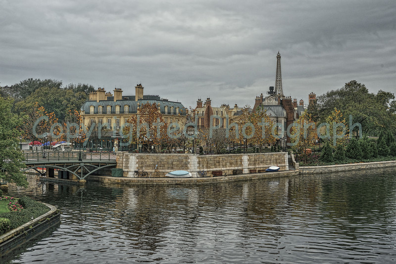 View of France<br /> World Showcase<br /> Epcot Center<br /> Walt Disney World