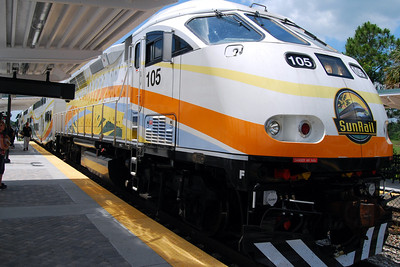 142: May 12, 2014 ride on Florida Sunrail
