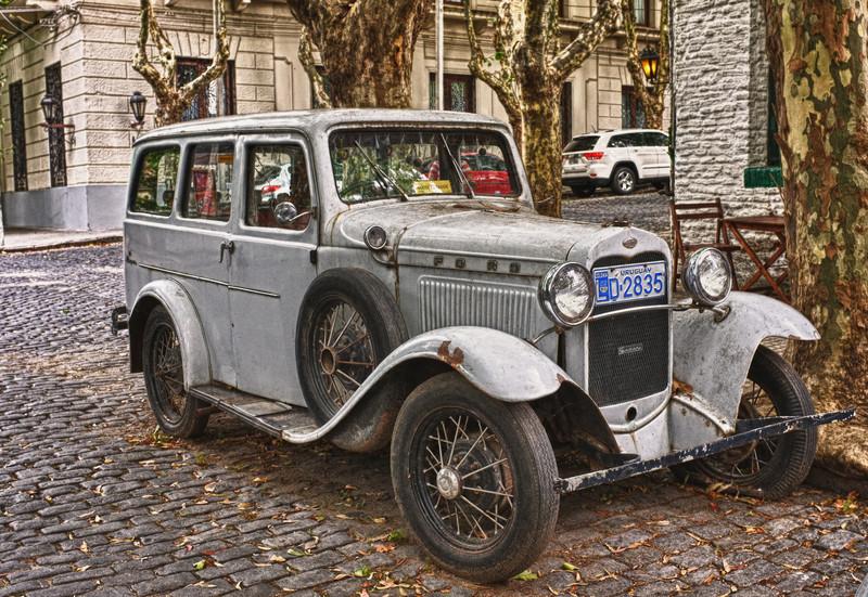 1930's Ford Sedan in Colonia, Uruguay